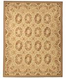 RugStudio presents Due Process Aubusson Bayonne Cream Flat-Woven Area Rug